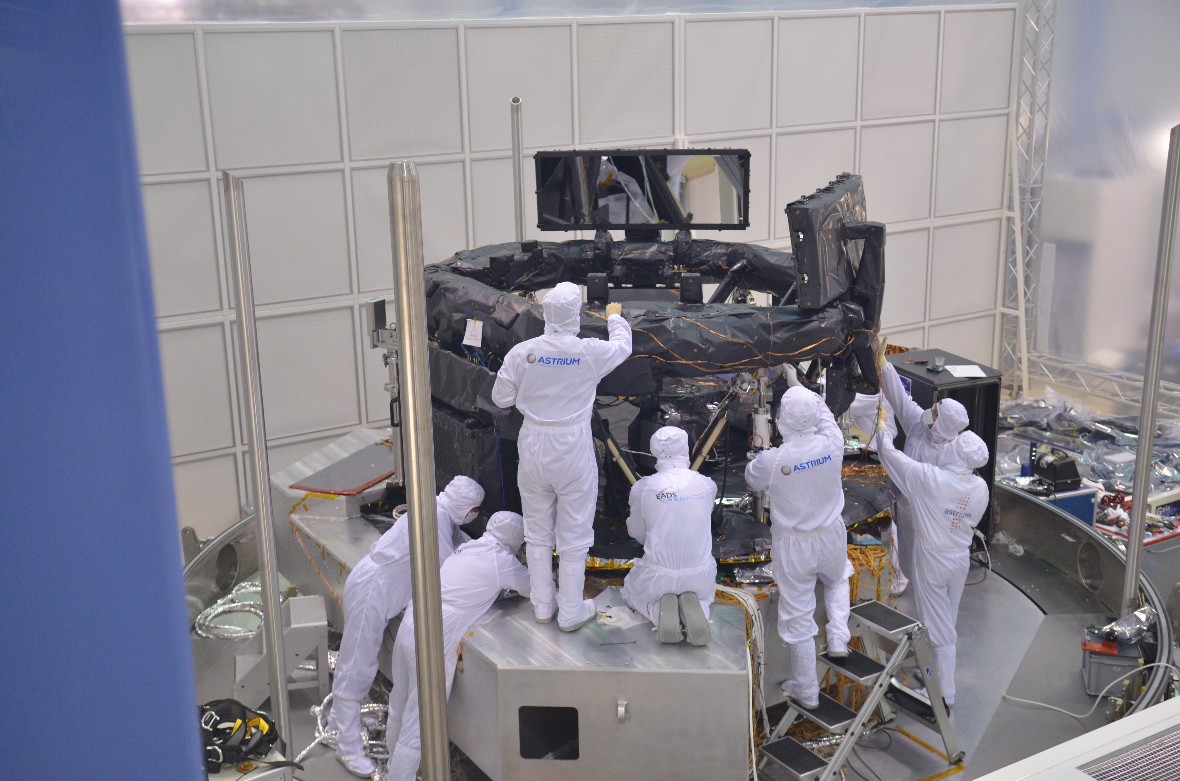 1567216763780-Gaia_FM_Payload-Module_thermal_testing_4.JPG